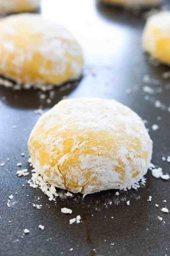 Lemon Crinkle Cookies - The Culinary Compass