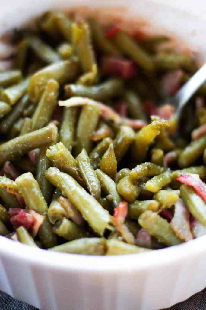 Green Bean and Bacon Casserole - The Culinary Compass