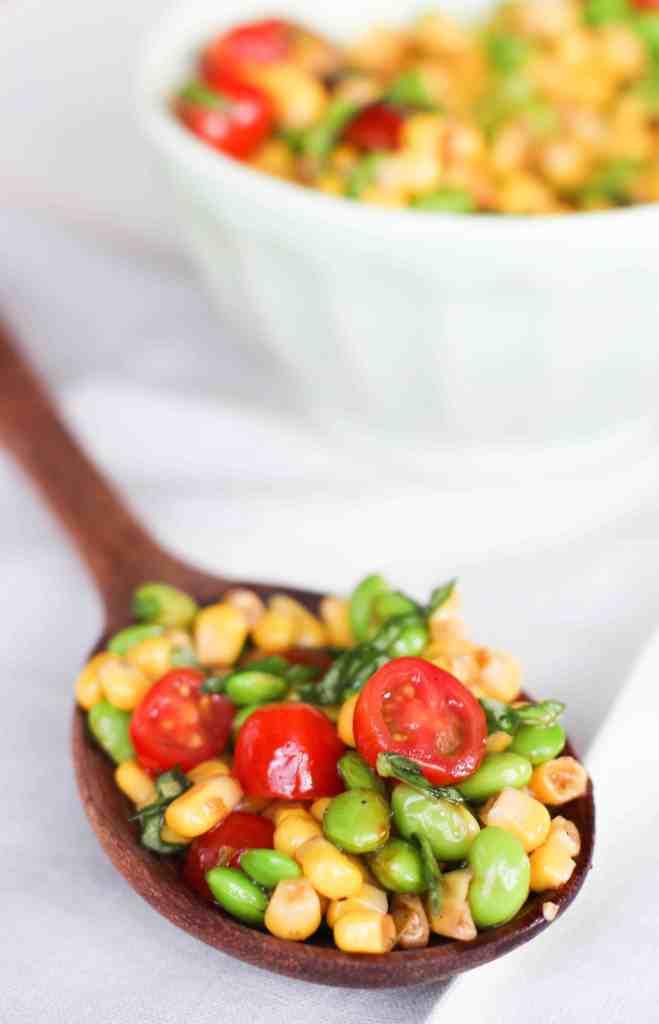 Corn Edamame Salad