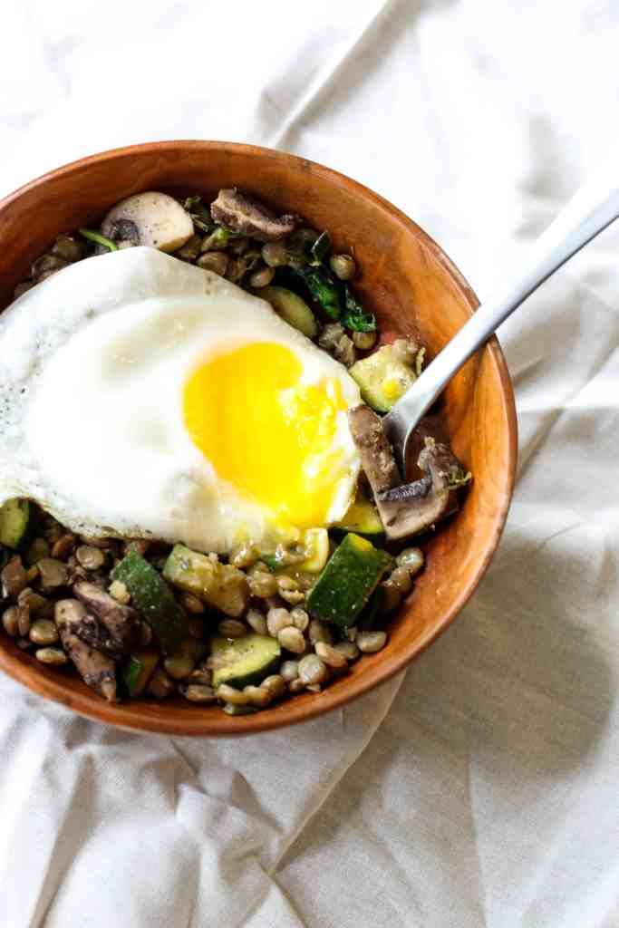This Breakfast Veggie Bowl is quick, hearty, and so easy to make your own!