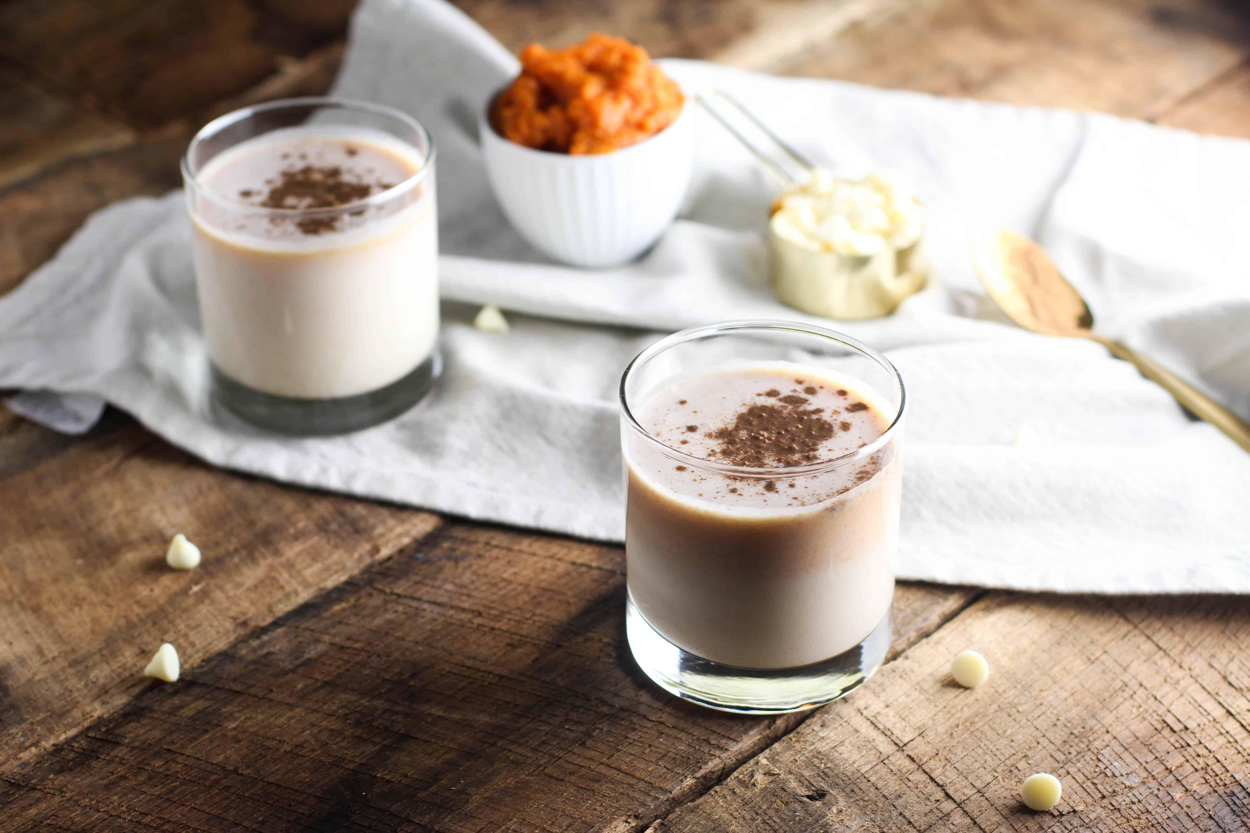White Chocolate Pumpkin Martini   The Culinary Compass