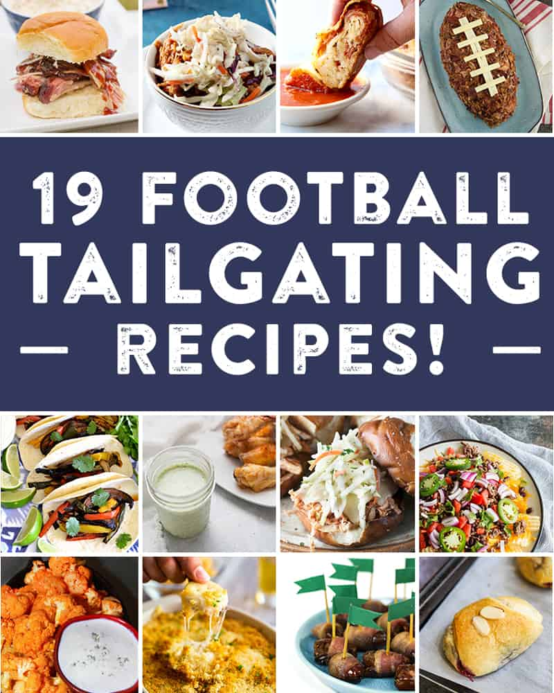 Try out these 19 tailgating recipes for your next game day!