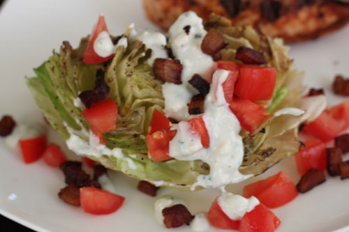 grilled wedge salad