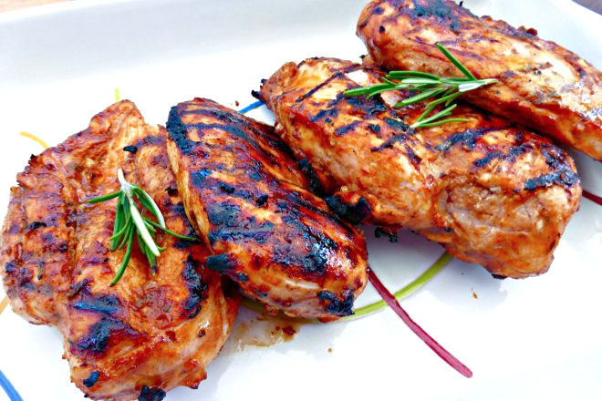 Homemade Spicy Marinade for Barbecue Chicken