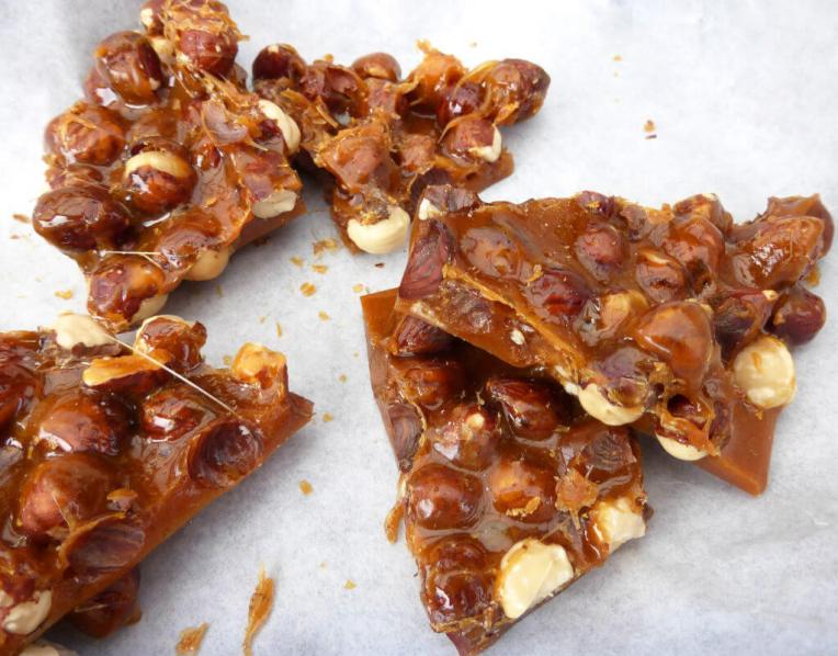 Spectacular Five Minute Hazelnut Praline (with just two ingredients)