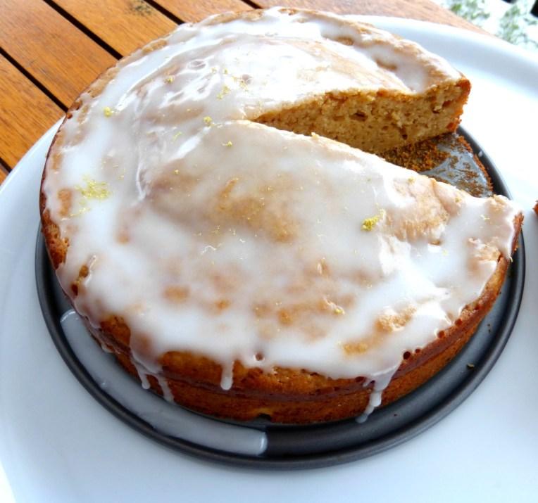 Grapefruit and Coconut Sugar Yoghurt Cake