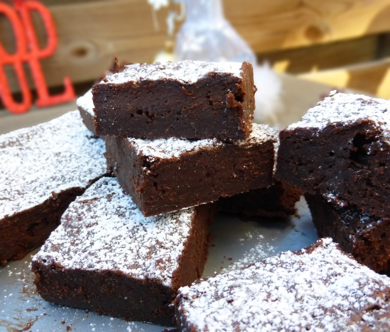Gingerbread Spiced Dark Chocolate BrowniesGingerbread Spiced Dark Chocolate Brownies