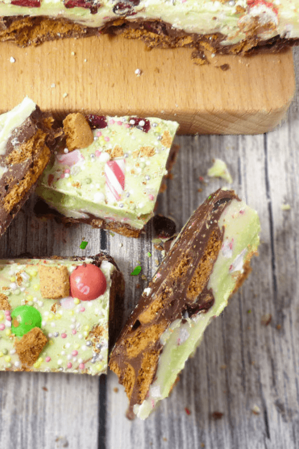 Christmas Gingerbread Rocky Road
