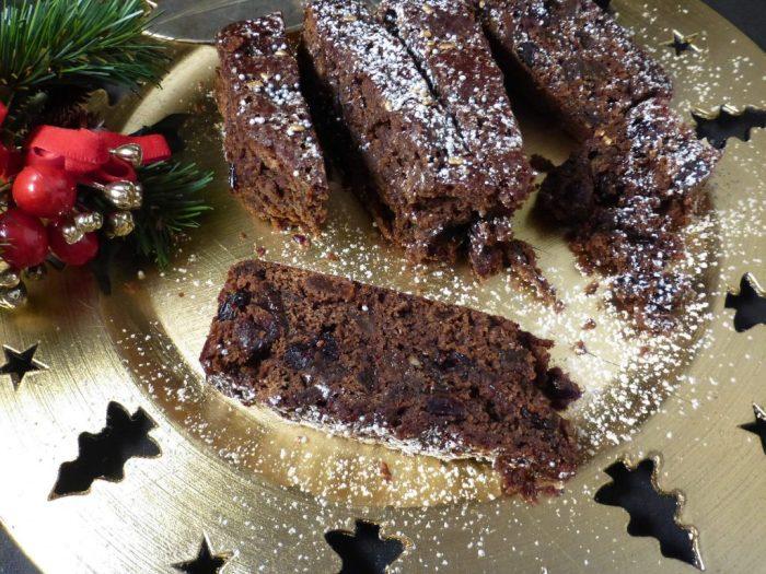 Simple Last Minute Christmas Fruit Cake