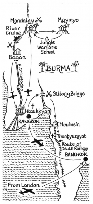 Burma, Forgotten Army Tour, 12 days, The Road Past Mandalay