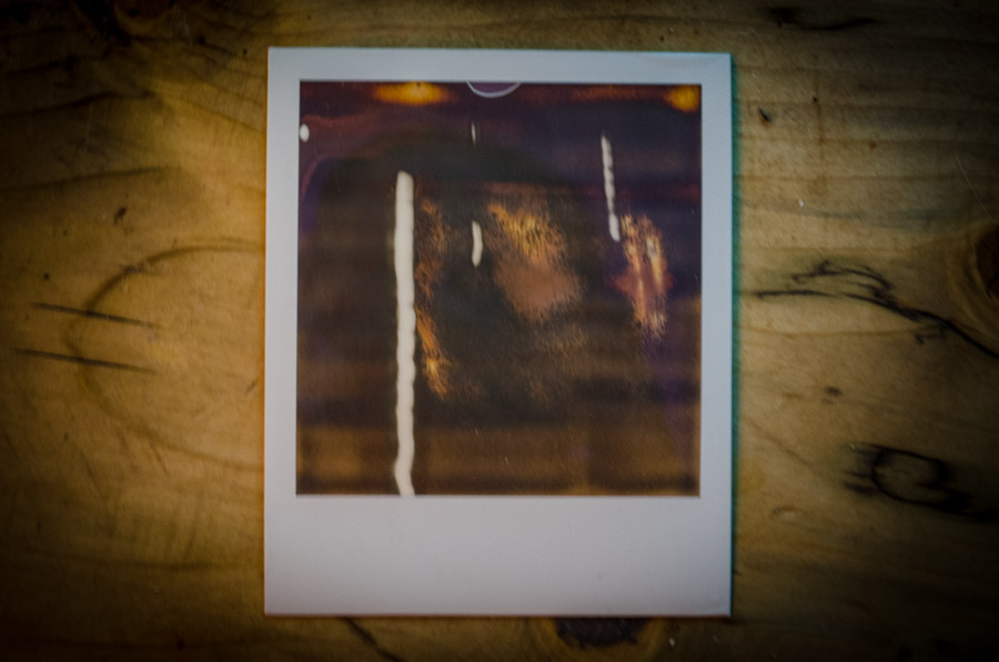 Polaroids in the Style of Bacon