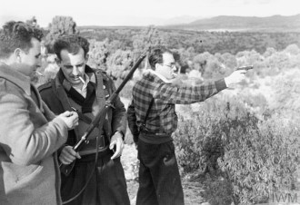 THE INTERNATIONAL BRIGADE DURING THE SPANISH CIVIL WAR, DECEMBER
