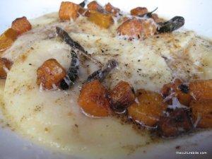 Butternut Squash Raviolis Americano