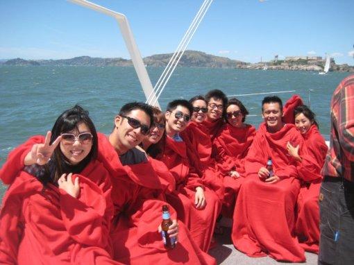 SF Bay Sailing Snuggies