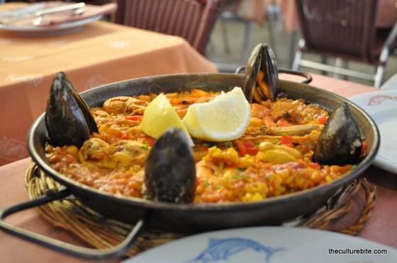 Barcelona Rey de la Gamba Paella