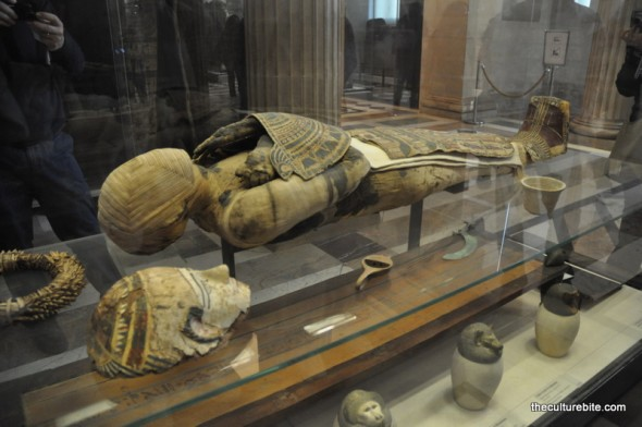 Paris Louvre Mummy