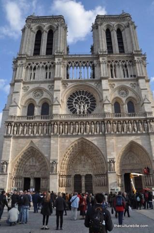 Paris Notre Dame Exterior