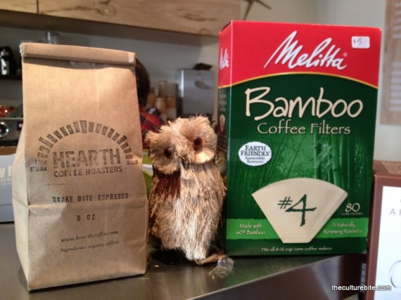 Brown Owl Coffee Grinds