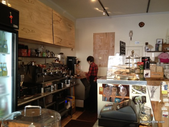 Brown Owl Coffee Interior
