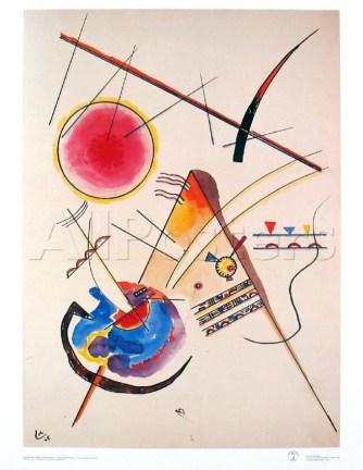 Aquarelle Gastebuch, by Wassily Kandinsky, 1925