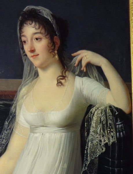 Oil Art Beautiful Woman
