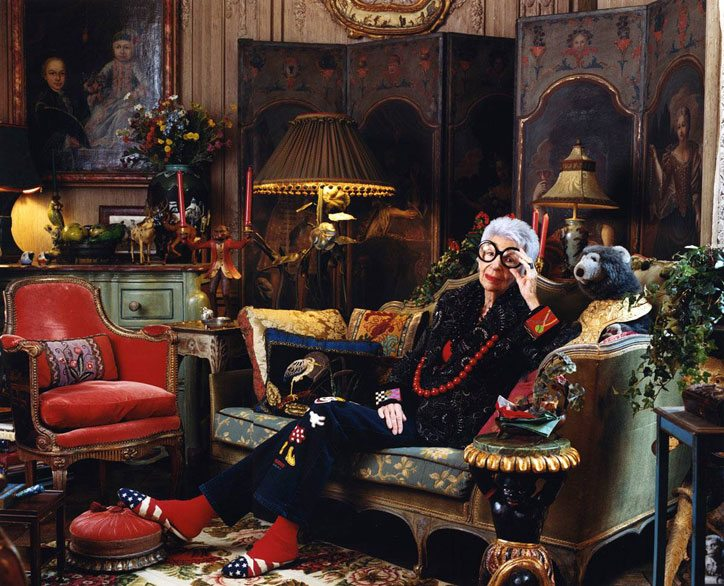 Iris Apfel from Manhattan  Fashionable Endeavours in Life