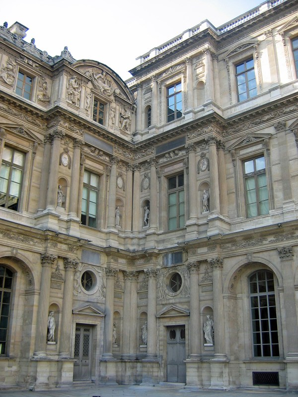 Mus Du Louvre Accessing Architecture And