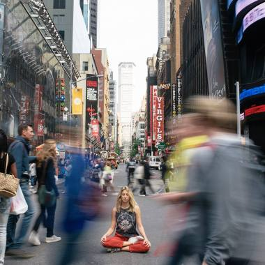 Web Series 'OM City' Explores NYC Yoga Scene, Features Chris Messina, Yogi Elena Brower