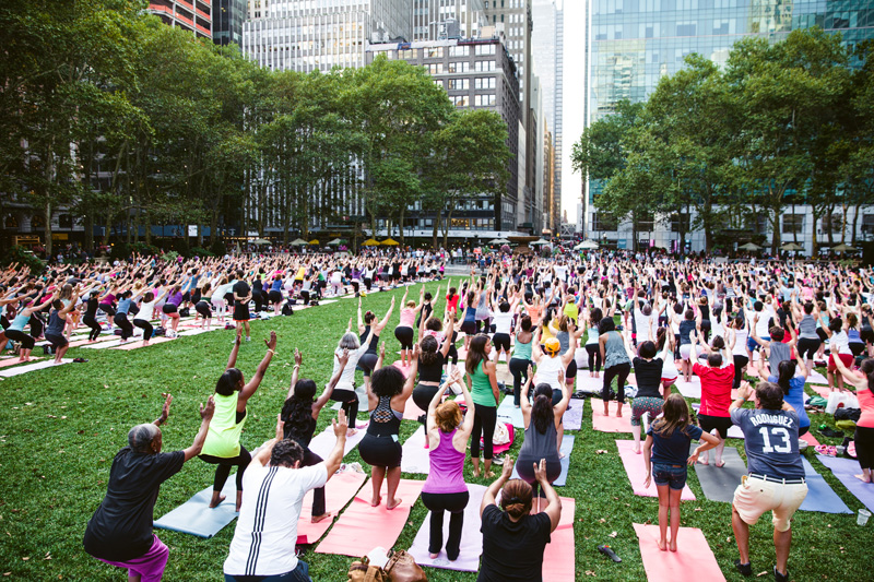 A Summertime Guide to New York City's Free Outdoor Yoga Classes