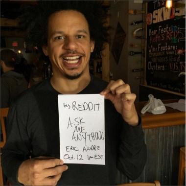 Ask Eric Andre Anything on Reddit Today, 'The Eric Andre Show' Season 4 Finale Airs Friday