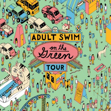 Adult Swim on the Green Tour Coming to New York & Other East Coast Cities Starting next Month