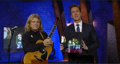 "Ty Segall Performs ""My Lady's on Fire"", Tries to Make Hillary Clinton Connections & More on 'The Opposition with Jordan Klepper' (Watch)"
