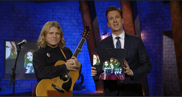 """Ty Segall Performs """"My Lady's on Fire"""", Tries to Make Hillary Clinton Connections & More on 'The Opposition with Jordan Klepper' (Watch)"""