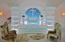 Ice Hotel Sweden Chapel