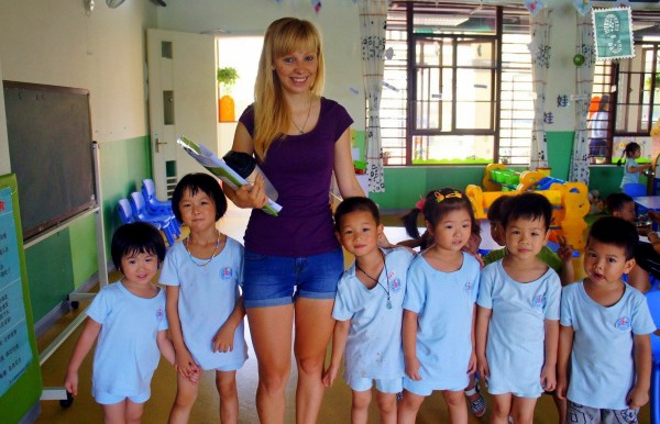 Interview Agness Teaching English In China
