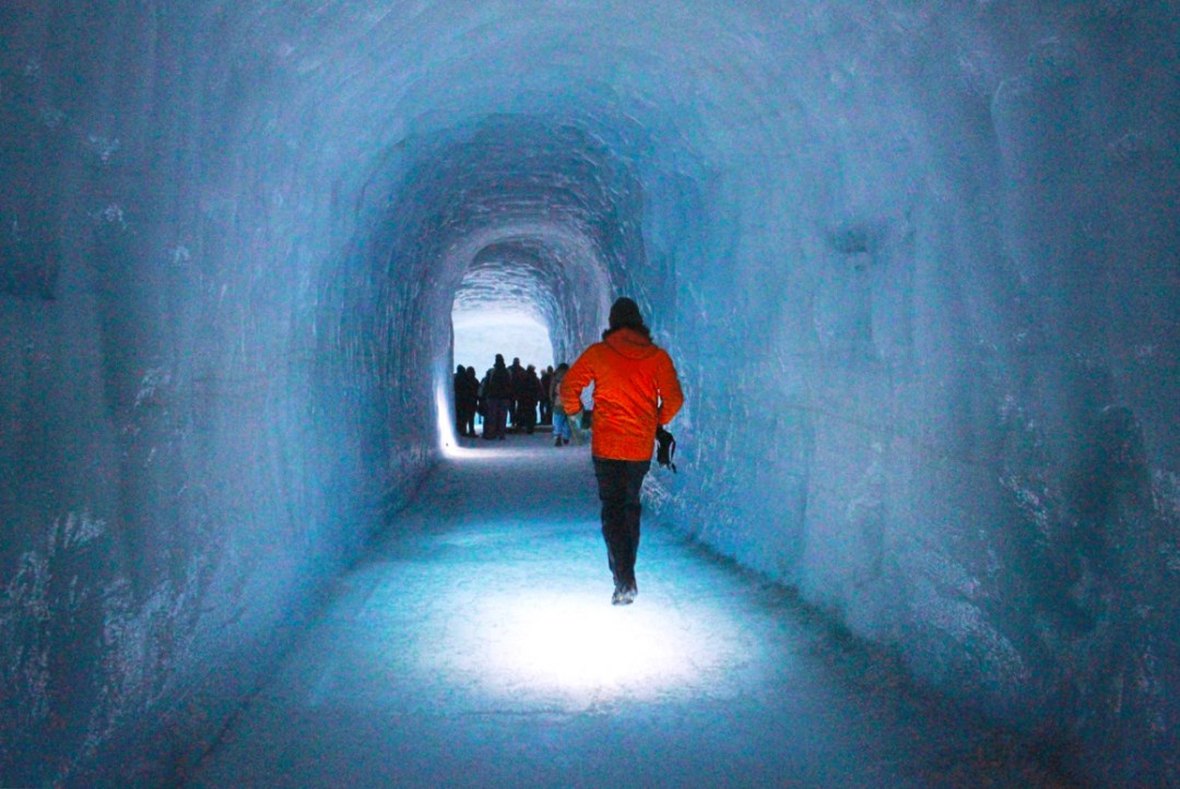 Into The Glacier Inside The World S Largest Man Made Ice Cave The Culture Map