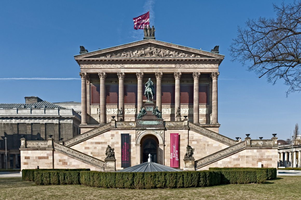 Alte Nationalgarie in Berlin on Museum Island