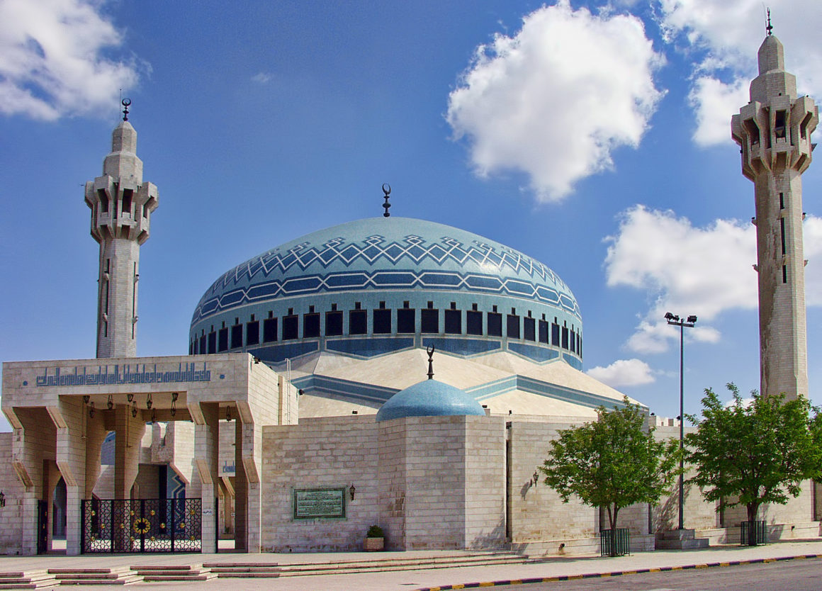 King Abdullah Mosque in Amman - One week in Jordan