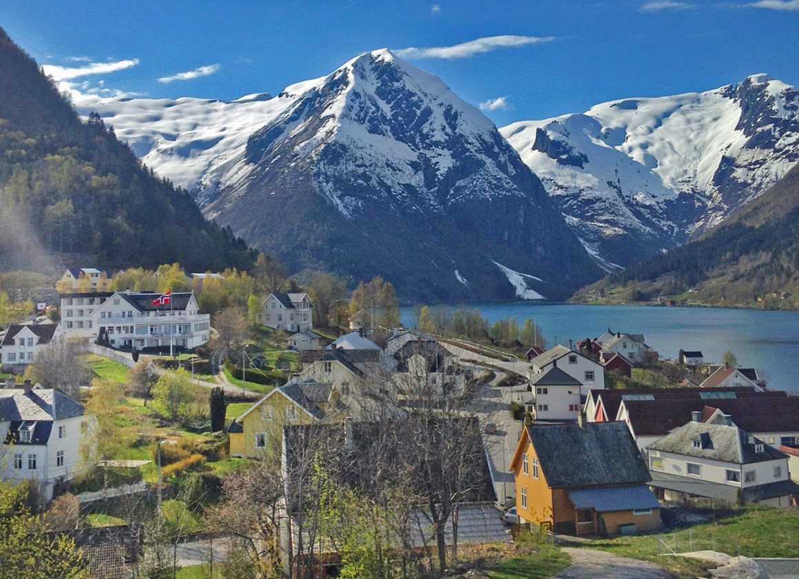 Balestrand, Norway - most colourful towns and cities in Scandinavia