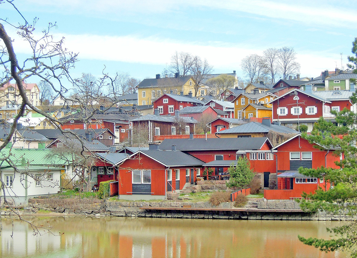 Porvoo in Finland - Most colourful towns and cities in Scandinavia