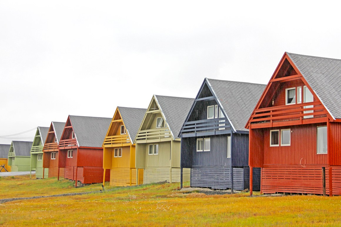 Longyearbyen, Svalbard - most colourful towns and cities in Scandinvia