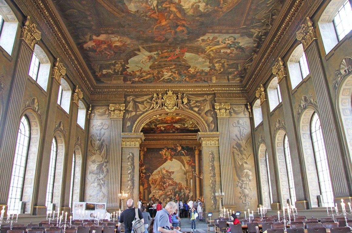 The Painted Hall - Things to do in Greenwich, London