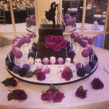 Square Tier Wedding Cake