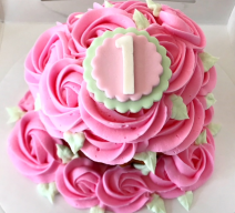 Order First Birthday Giant Smash Cupcake for Delivery! We're located in Fairfax, Virginia and deliver our cupcakes, balloons in Northern VA and the DC area: Aldie, Annandale, Arlington, Alexandria, Ashburn, Bristow, Burke, Chantilly, Clifton, Centreville, Fairfax, Fairfax Station, Falls Church, Gainesville, Great Falls, Haymarket, Herndon, Manassas, Mclean, Oakton, Reston, Springfield, Sterling, South Riding, Tysons, Vienna and Washington DC