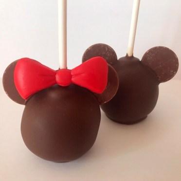 mickey minnie cake pops