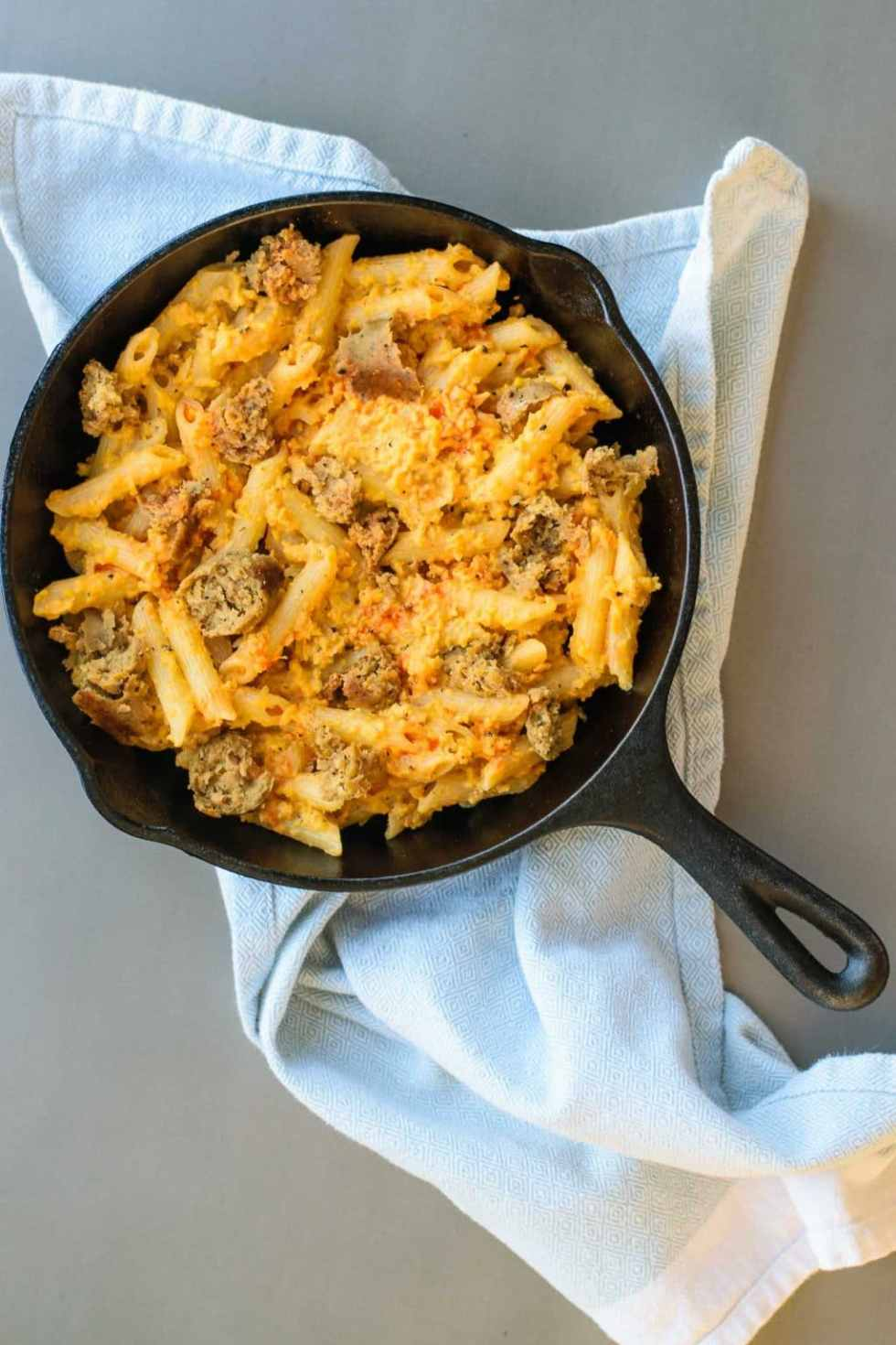 Penne Buffalo Cauliflower Cream Sauce