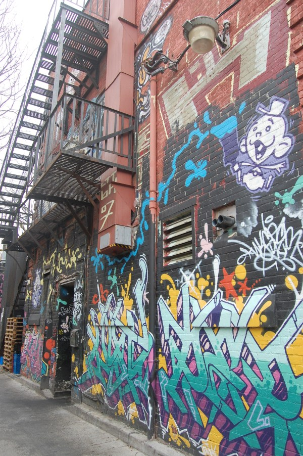 Transient Art Galleries Graffiti Queen West