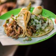Suadero tacos at Merces