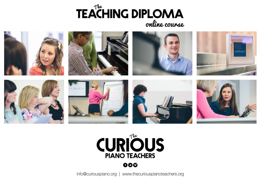 Prepare for the ATCL or DipABRSM diploma in piano teaching with our online course - The Curious Piano Teachers