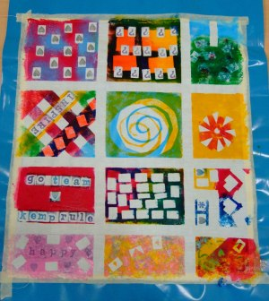 fabric printing sampler
